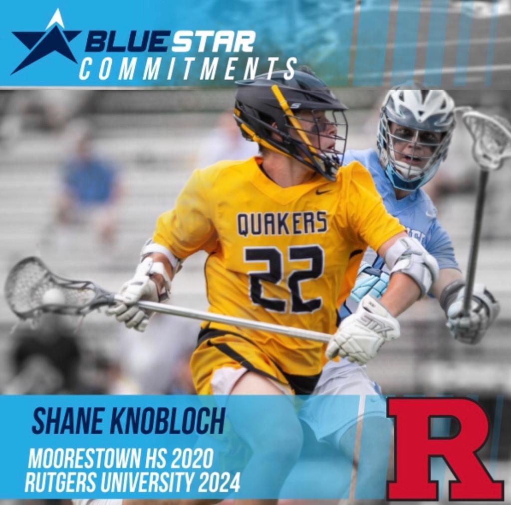 Shane Knobloch Blue Star Lacrosse Moorestown Rutgers