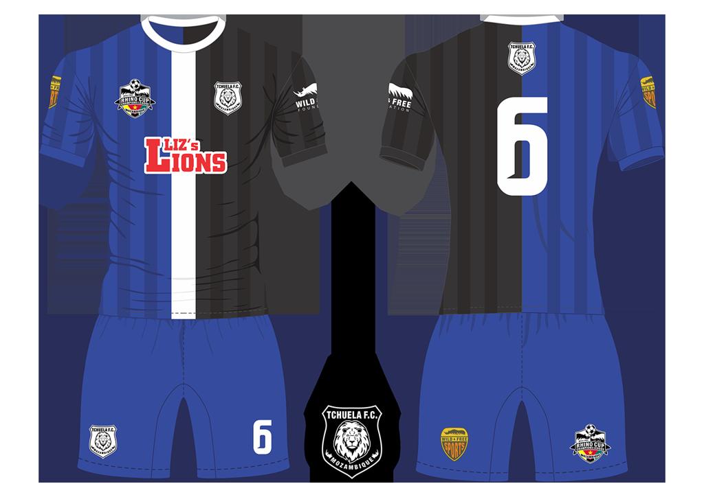 Tchuela FC Lions Soccer Team Kit RCCL 2019