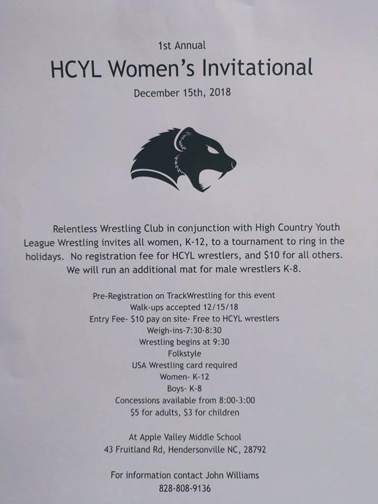 HCYL Women's Invitational