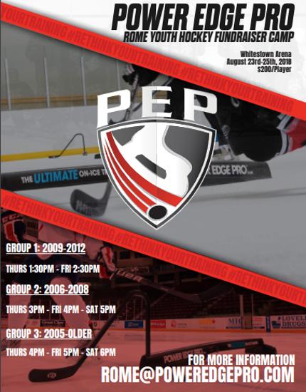 Power Edge Pro RYHA Summer Skills Camp