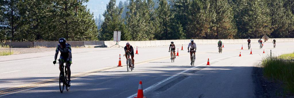 IRONMAN 70.3 Coeur d'Alene bike course