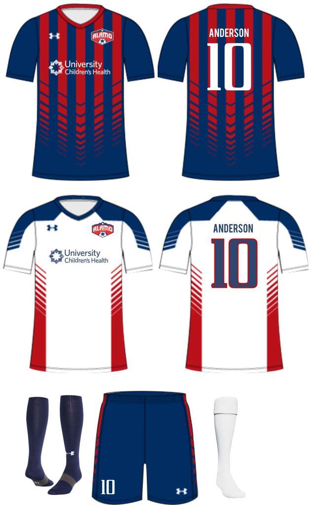 under armour soccer uniform kits