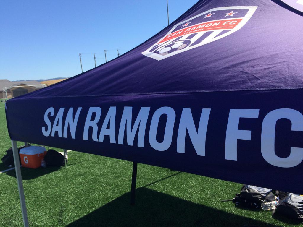 San Ramon FC Soccer Field Tent