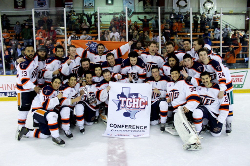 UTEP TCHC Ice Hockey Champions