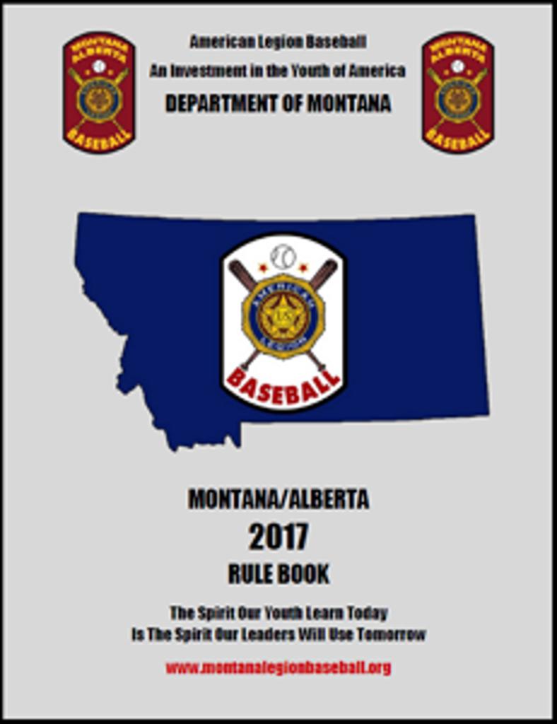 2017 Montana-Alberta Rule Book