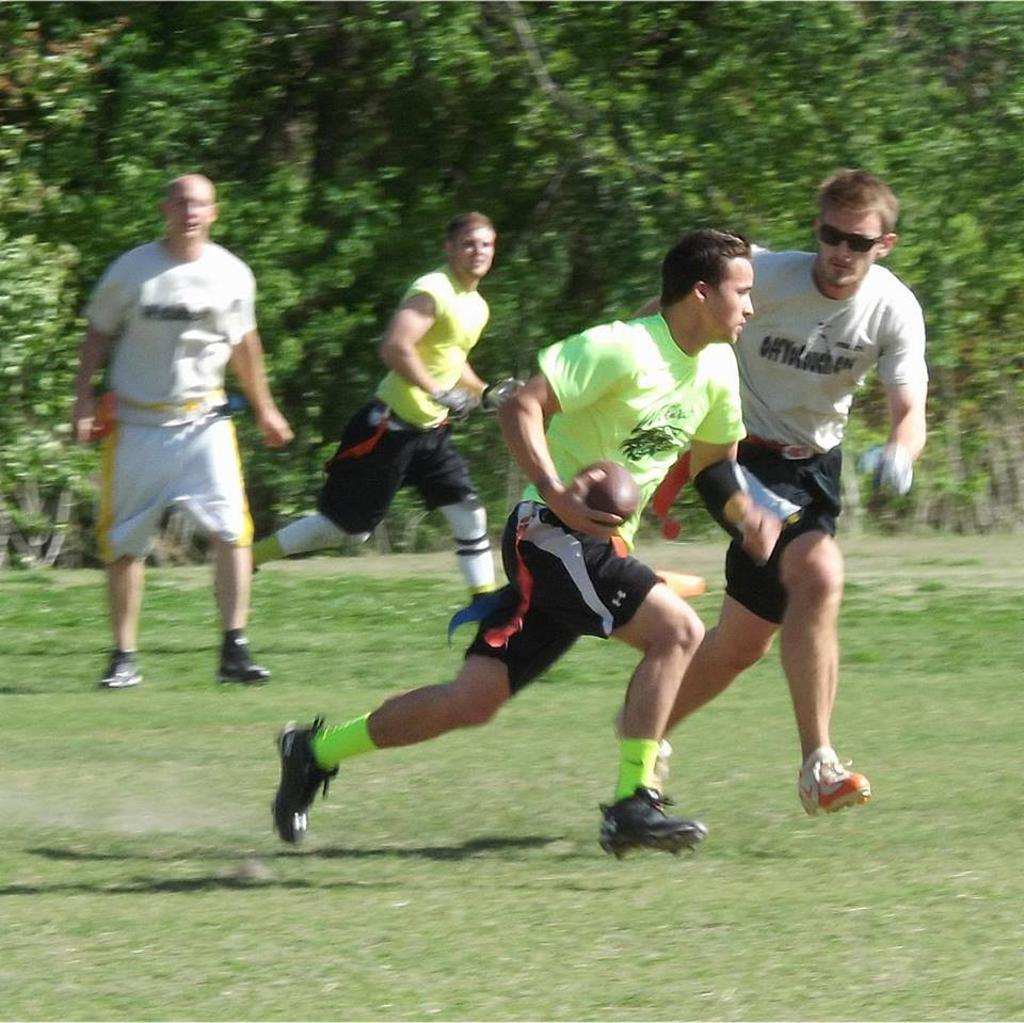 Tulsa Mens Flag Football League