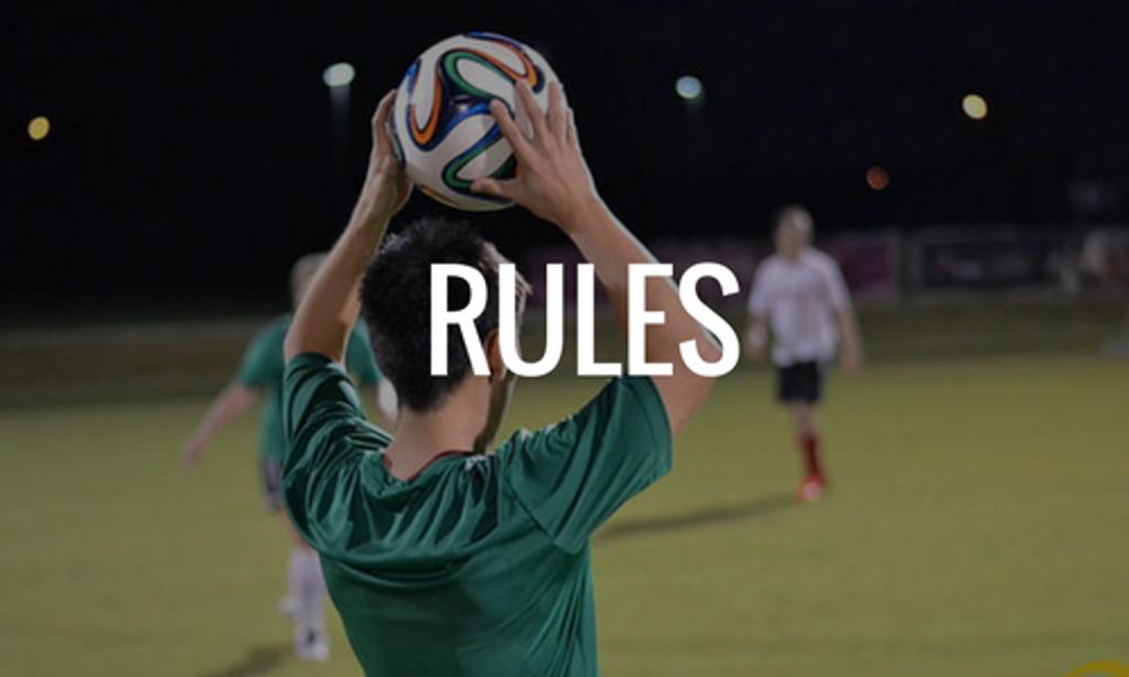 Houston Soccer Rules