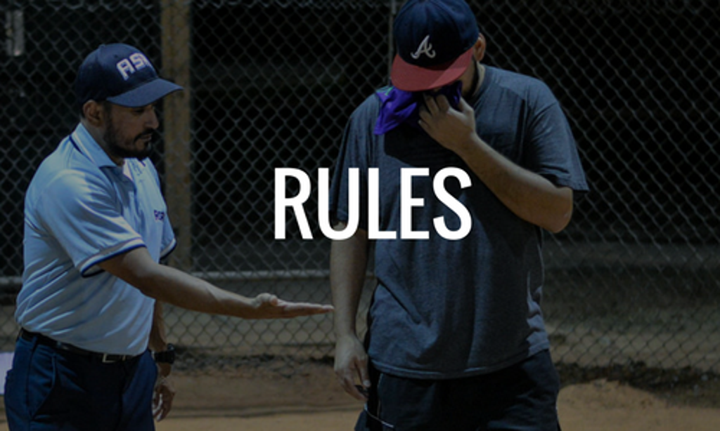 Houston Softball League Rules