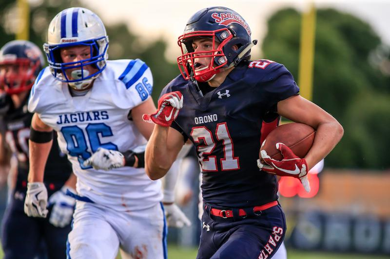 Orono looks to get off to a good start to subdistrict play when it takes on reigning champion Benilde-St. Margaret's on Friday. Photo by Mark Hvidsten, SportsEngine