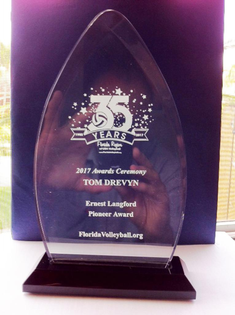 The Ernest Langford Pioneer Award