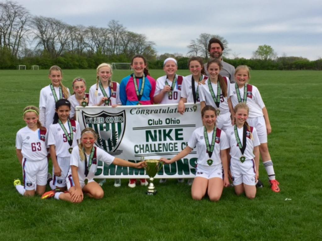G05 East - Congratulations Girls! - Nike Cup Champions 2017