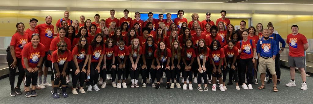 Arizona Region of USA Volleyball High Performance Delegation 2021