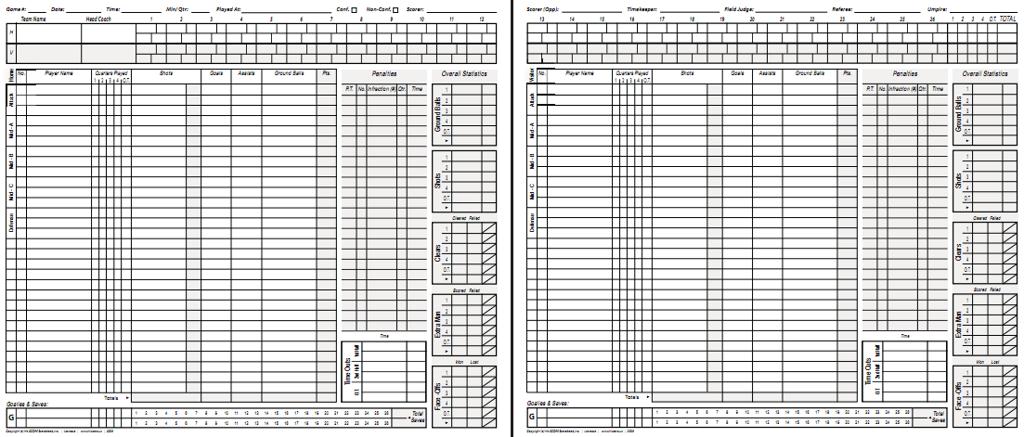 Scorekeeping & Stats