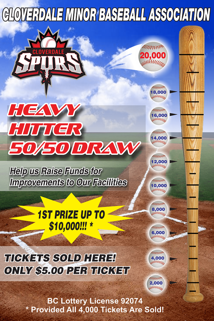 Heavy Hitter 50/50 Draw