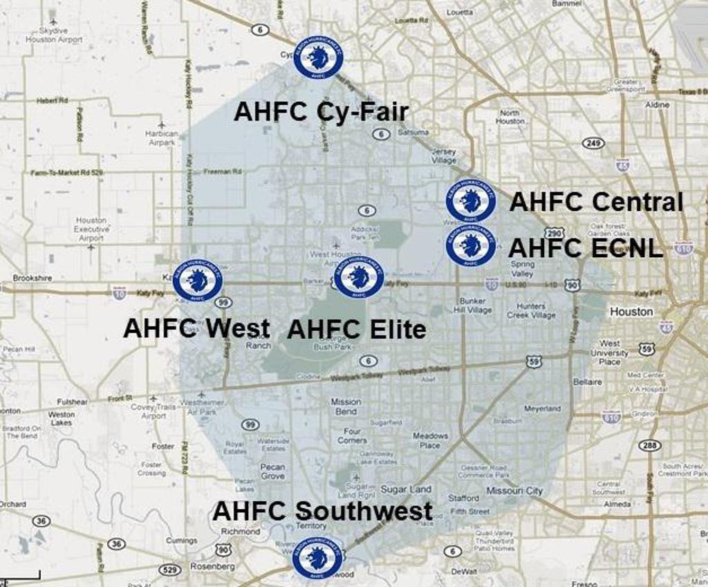 AHFC Campus Footprint