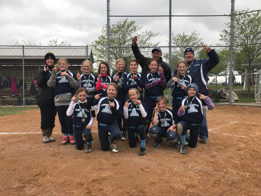 10U Navy take 1st place in the Elk River Swing Into Spring tournament!