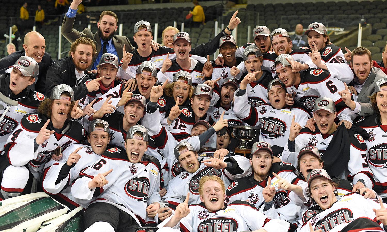 USHL: Chicago Steel Win 2017 Clark Cup