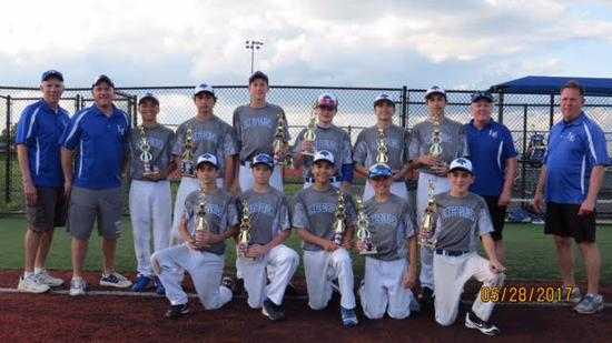 14U Cougars Black take 2nd in St. Charles!