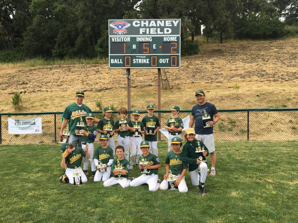 Congratulations to the AA Champion A's