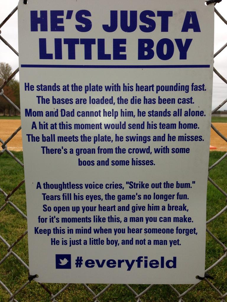 Please Remember this for both our boys and girls teams.....