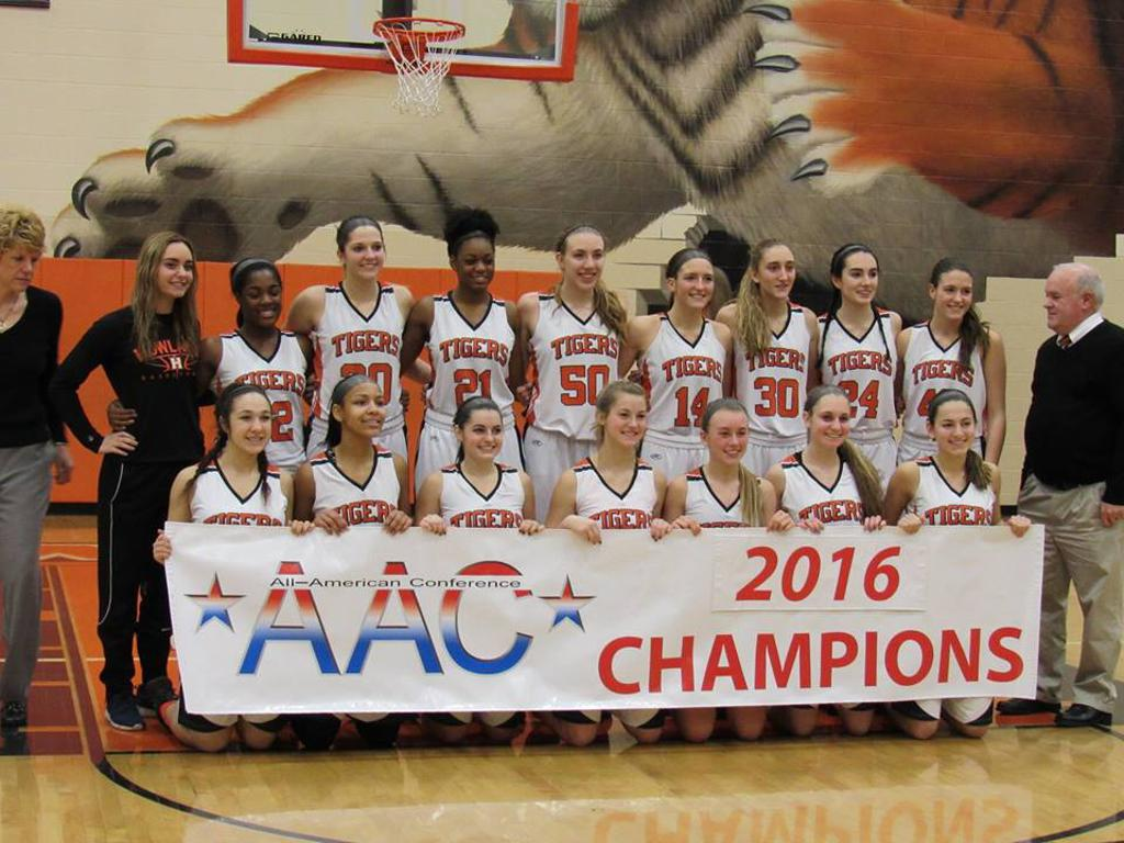 Howland Girls Basketball Team wins the 2016 AAC Red Tier