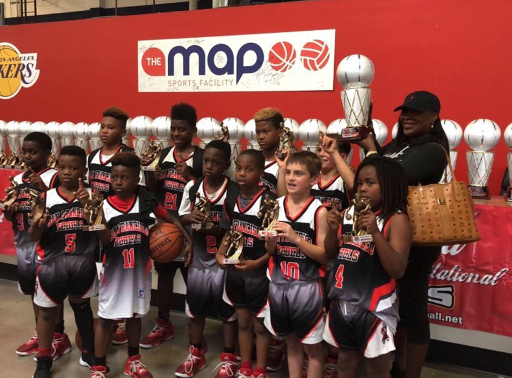 SF Rebels 9u win the Coca Cola Nationals