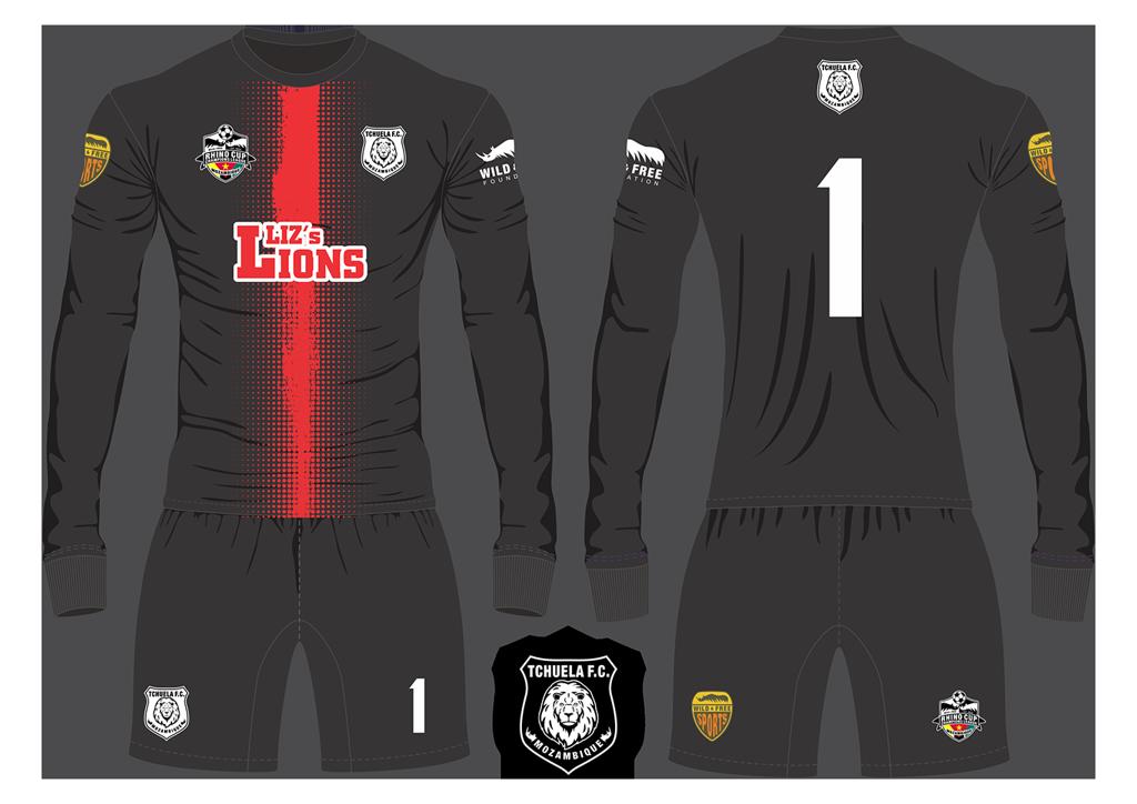 Tchuela FC Lions Goalkeeper Kit RCCL 2019