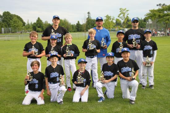 Congratulations to the Dodgers for winning 2nd place in the Mosquito Tier One finals
