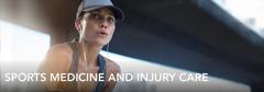 SPORTS MEDICINE AND INJURY CARE           WITH MANY CONVENIENT LOCATIONS