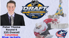 Thome Drafted by Columbus
