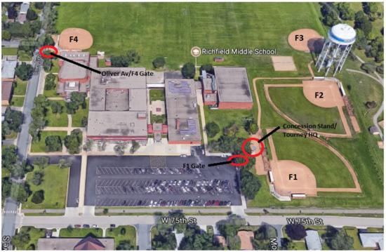 Richfield Middle School Fields - 7461 Oliver Ave S, Richfield, MN 55423