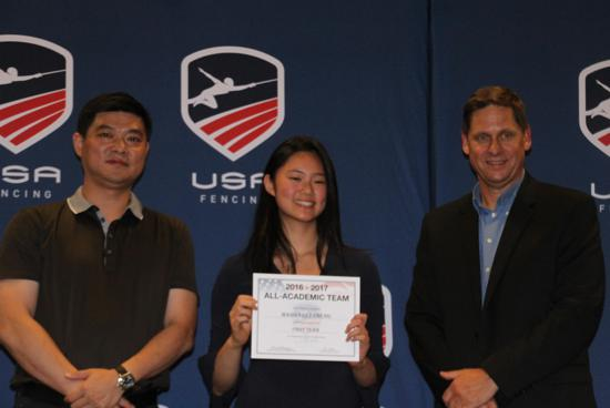 Usa Fencing Honors All Academic Team In Salt Lake City