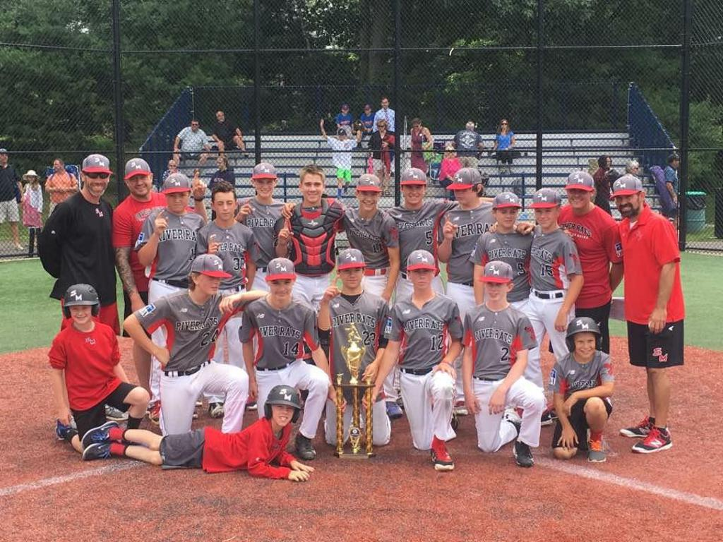 SM River Rats 13U Black Capture D1A 2017 New England Elite Baseball League Championship!