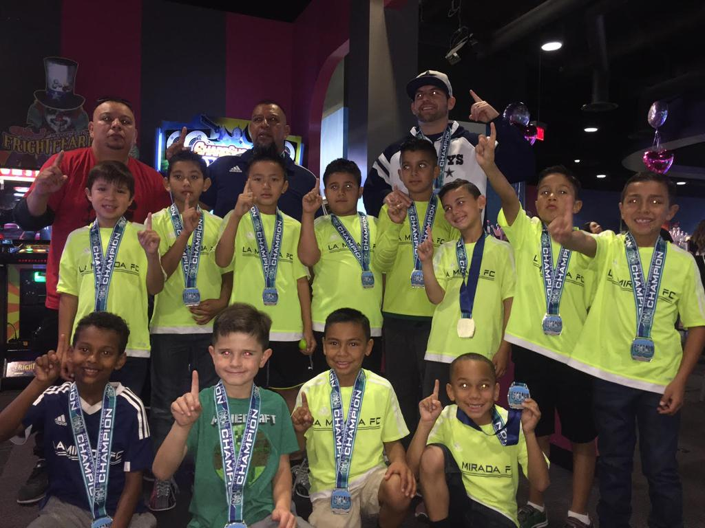 B08 CSL Bronze Central Division Champions 2016