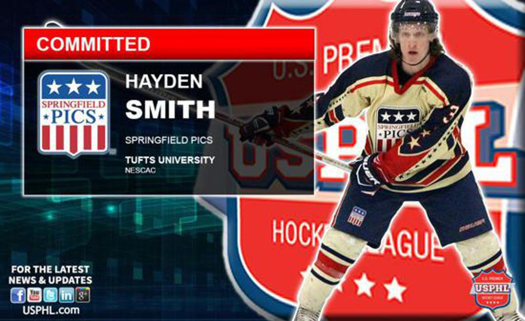 Hayden Smith commits to Tufts