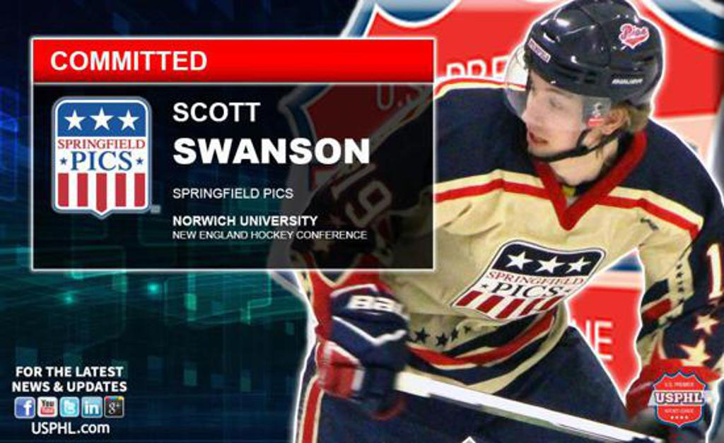 Scott Swanson heads to Norwich University