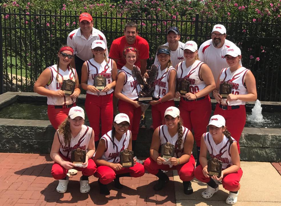 Lightning 16U Farber/Hejaily - NSA World Series Eastern Nationals Champions