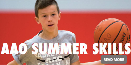 AAO SUMMER BASKETBALL SKILLS CAMPS