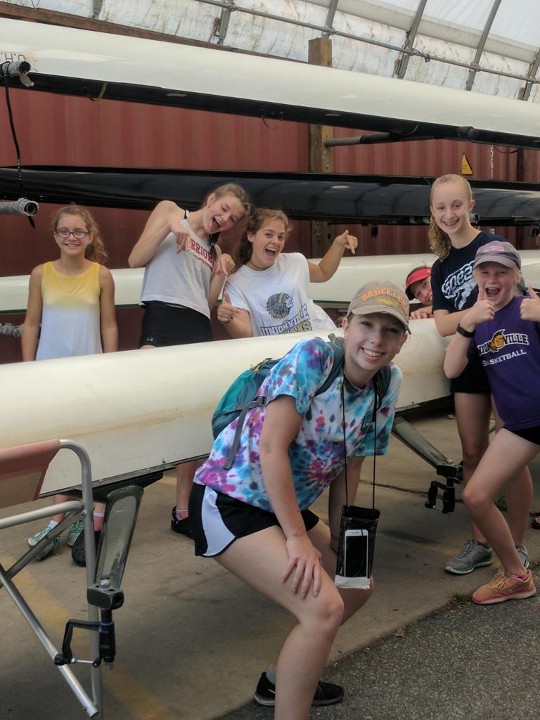 Learn to Row Camp 2017 - Delaware's premier youth rowing club, located just south of Wilmington, DE