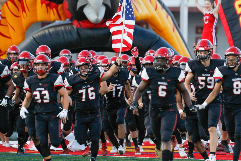 2018 Chaparral Firebirds Football