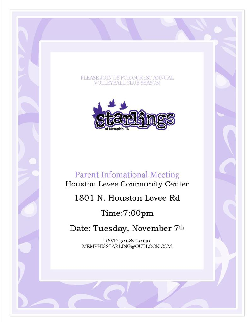 Parent informational meeting large
