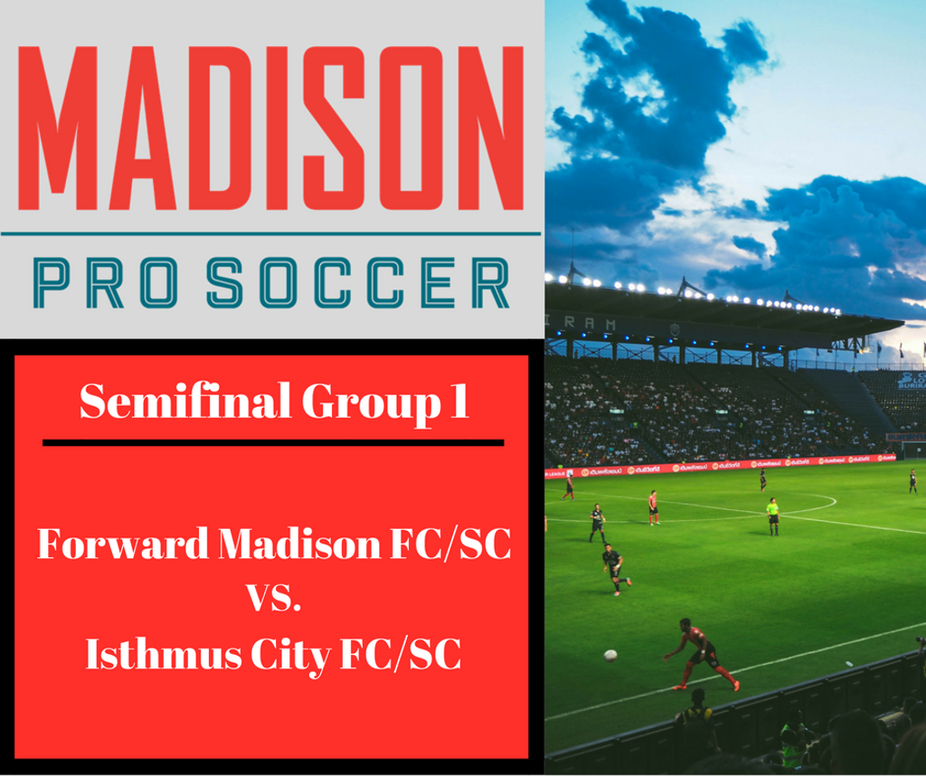 Group 1 Semifinals