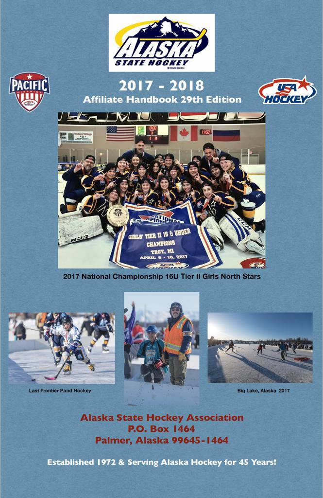 alaska state hockey assoc 2017-18 handbook