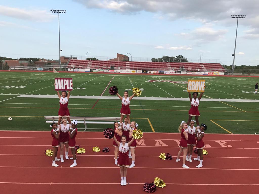 Soccer Sideline Cheer Team