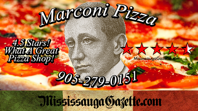 marconi pizza in mississauga and marconi pizzeria in mississauga news and mississauga newspapaer with pizza shops in mississauga and insauga.com with Khaled Iwamura - Mississauga news and mississauga newspaper