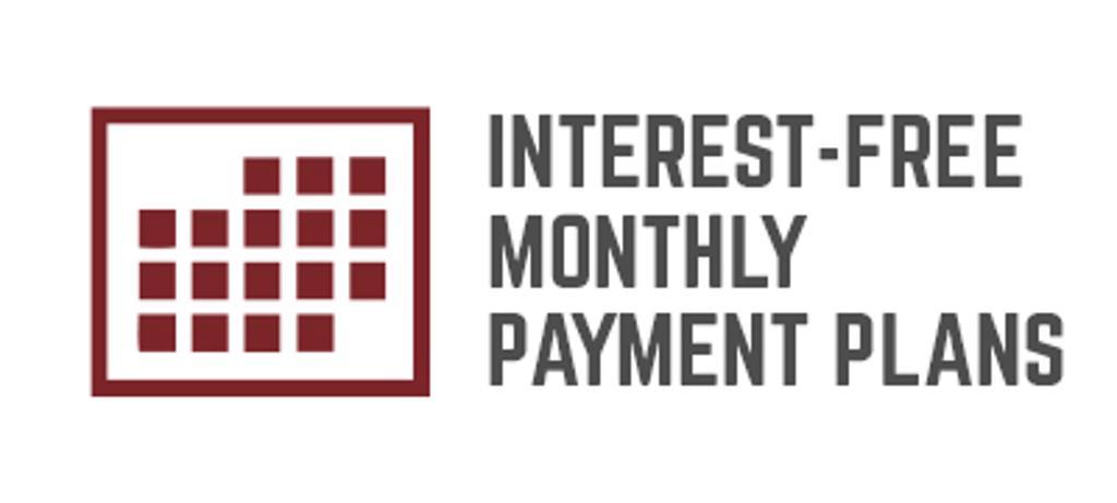 Interest-free Payment Plans