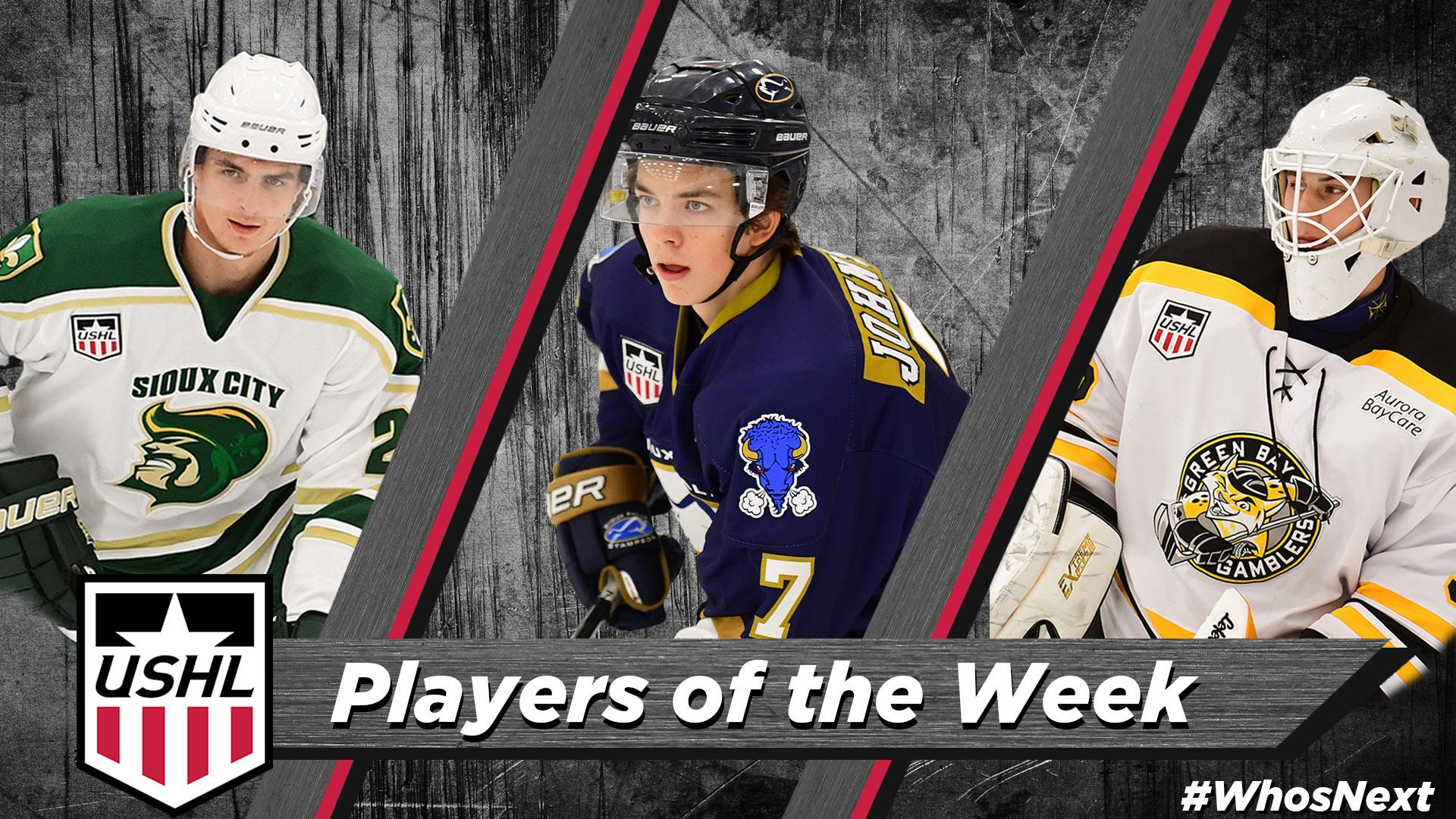 USHL: USHL Players Of The Week - Week 4, 2018-19