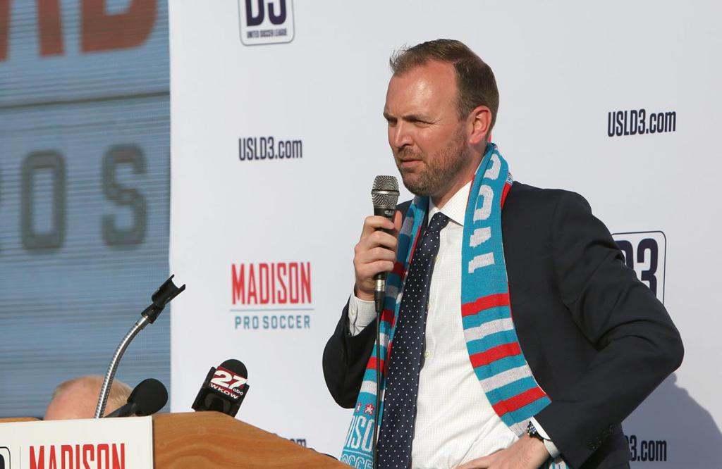 Conor talks soccer