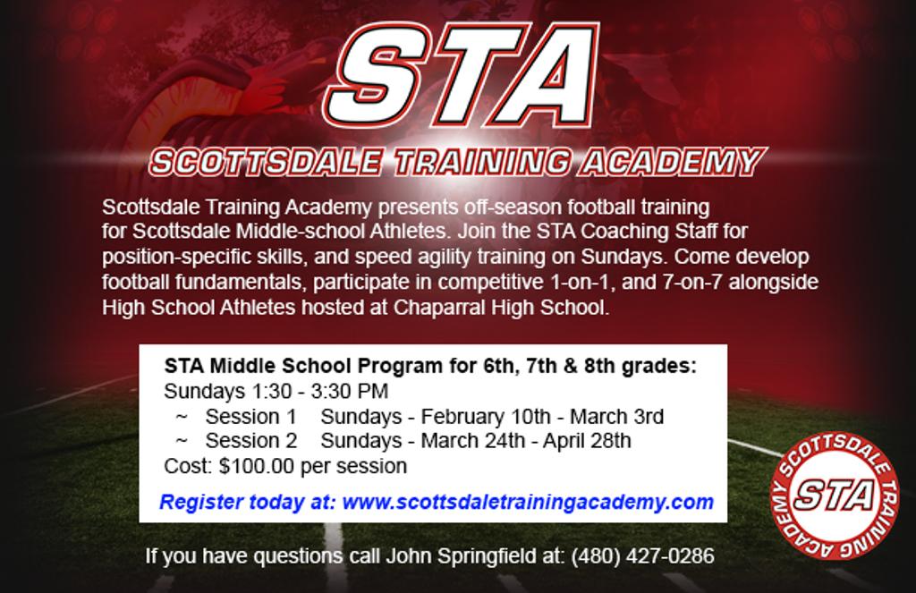 STA Off-season Middle School Sunday Program