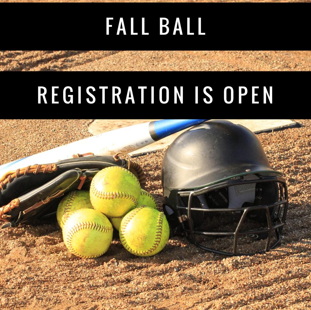 Fall Ball Registration Open